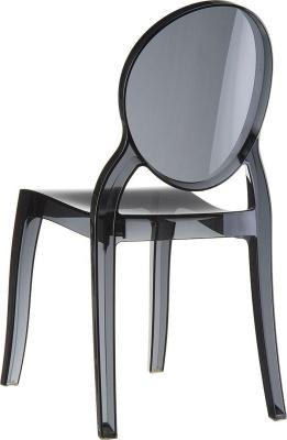 krzesła glamour czarne