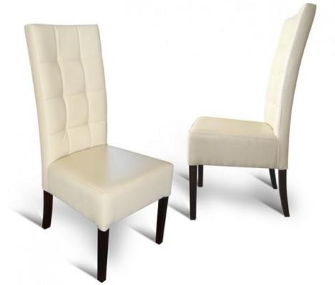 krzesła glamour białe