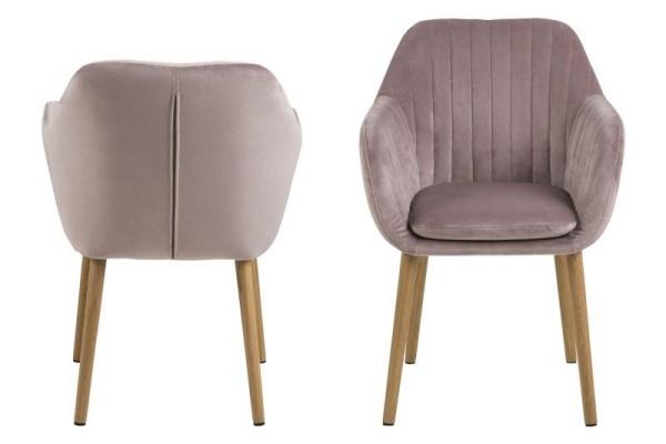krzesła do salonu glamour