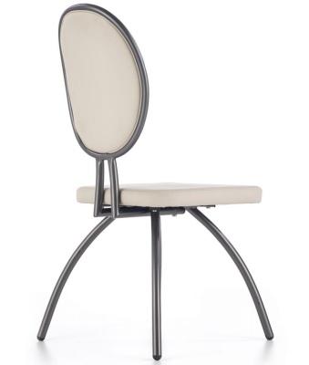 krzesło białe glamour