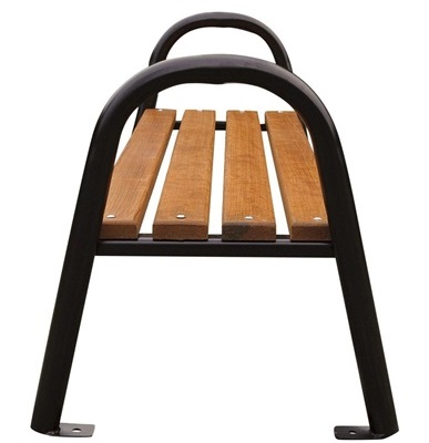 ławki parkowe bez oparcia