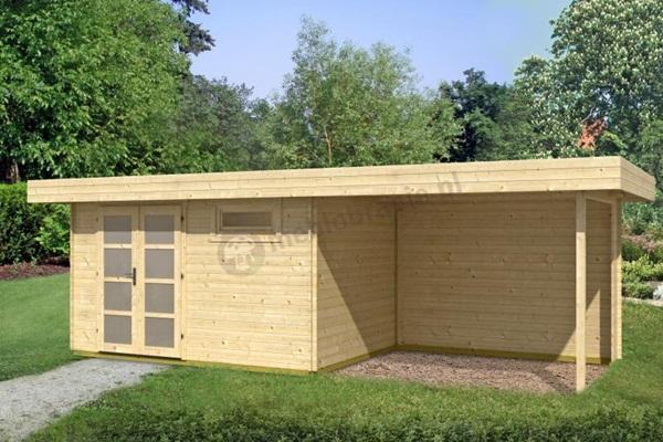 domki drewniane nowoczesne