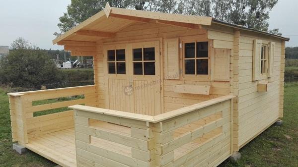 domy nowoczesne drewniane