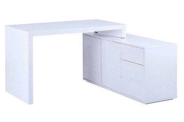 biurko białe komputerowe