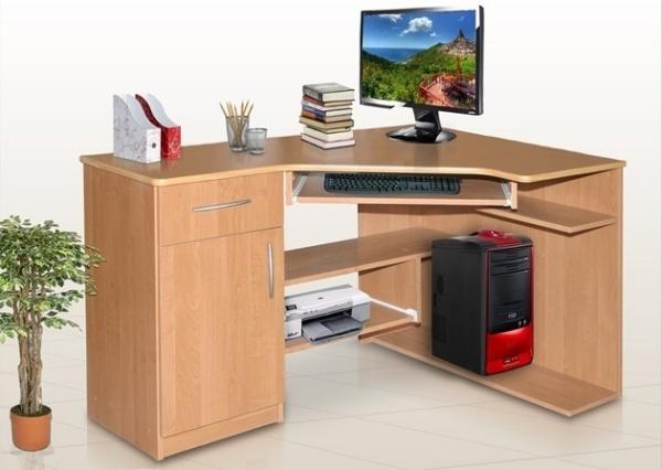 biurko sosnowe narożne