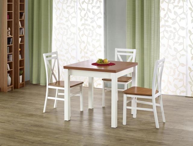 okrągły czy prostokątny stół do małego pokoju dziennego