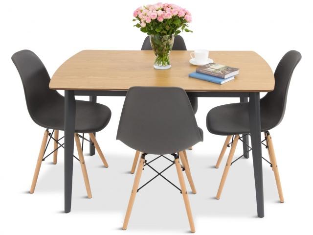 nowoczesne krzesła w stylu skandynawskim