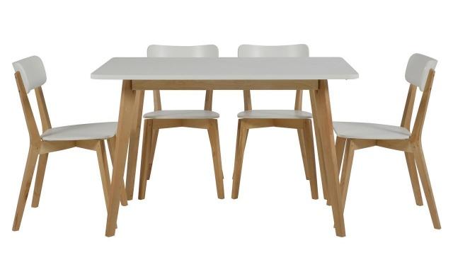 krzesła do kuchni styl skandynawski