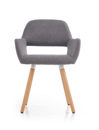 krzesła do jadalni szare