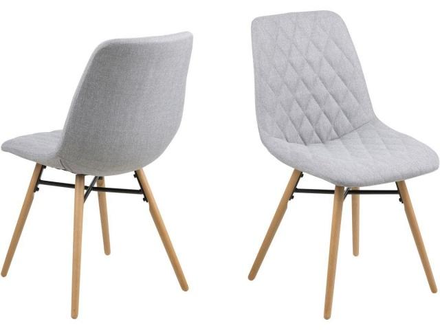 nowoczesne krzesła do jadalni kolor szary