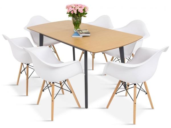 stoły rozkładane i krzesła do jadalni