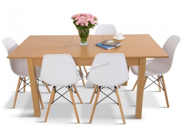 nowoczesny stół z krzesłami do kuchni