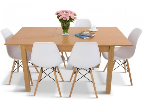 stoły rozkładane i krzesła do salonu