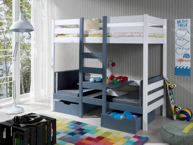 malutki pokój dla dwójki dzieci