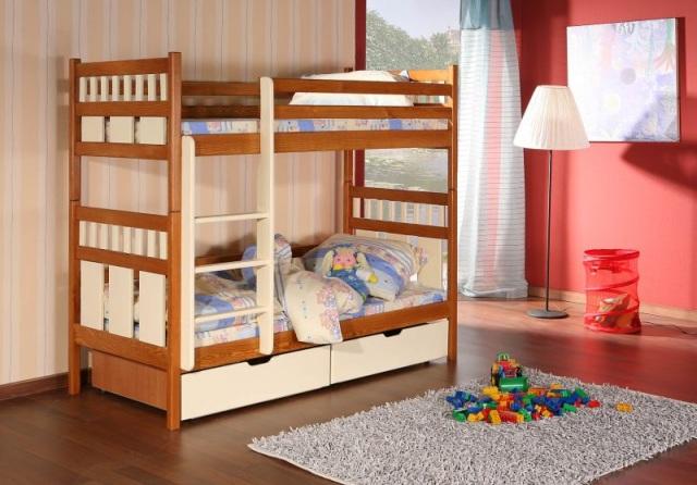 aranżacja małego pokoju dla dwóch chłopców