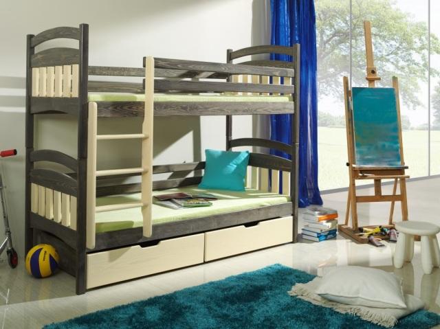 pomysł na mały pokój dla dwójki dzieci