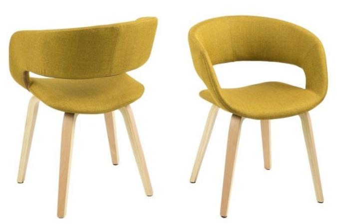 krzesła drewniane kolorowe