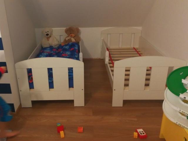 pokój dla dwóch małych chłopców