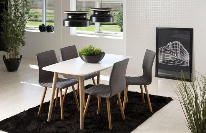 stoły do jadalni białe