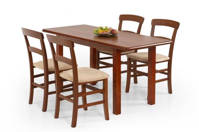 stół szerokość 70 cm rozkładany drewniany