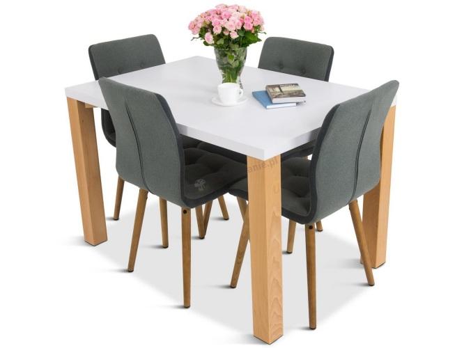krzesła plus stół 4-osobowy