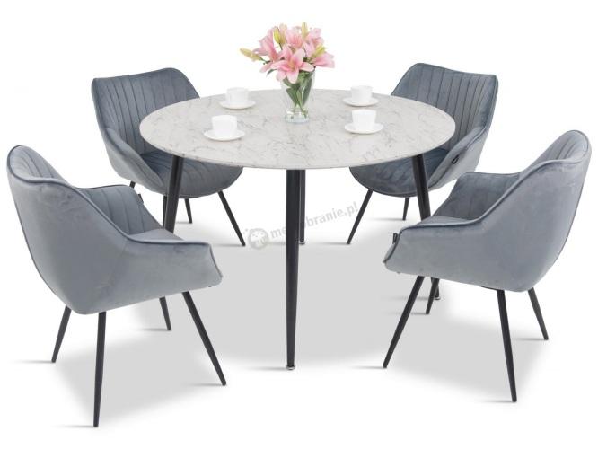 stół kuchenny i 4 krzesła