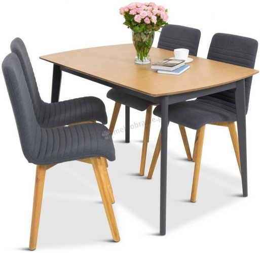 zestaw stół i 4 krzesła do kuchni