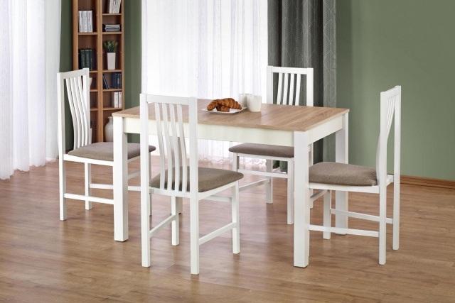 stół 70 cm rozkładany drewniany