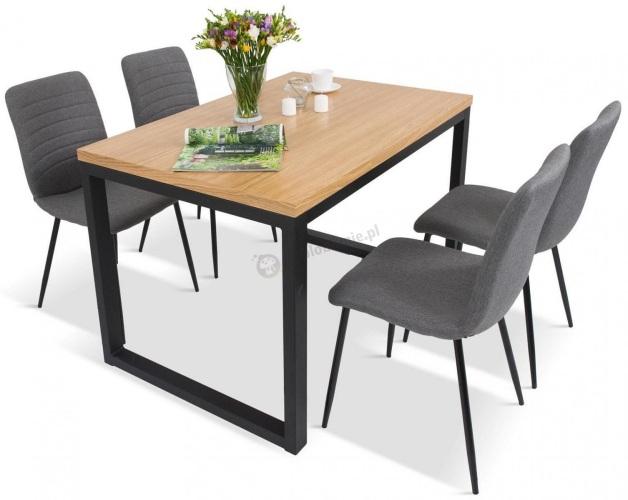 zestaw do jadalni stół 4 krzesła