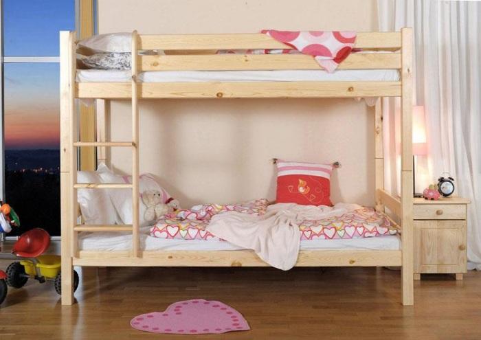 łóżko piętrowe zrób to sam