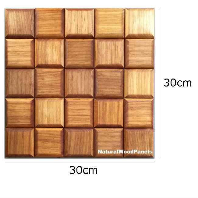 Natural Wood Panels CHOCO LUXURY series  Jatoba wymiary
