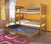 Łóżka piętrowe 3 osobowe